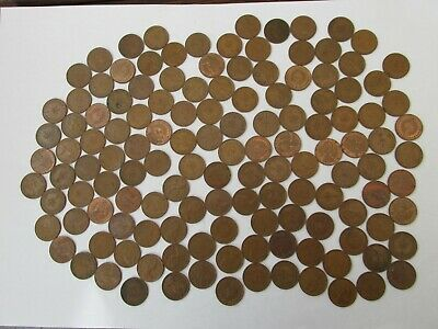 133 x HALF NEW PENNIES 1/2p's  DECIMAL coins JEWELLERY CRAFT ha'penny