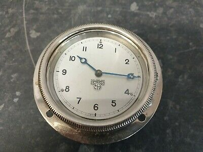 Smiths M9 Vintage Car Clock with Jewelled Lever Platform Escapement