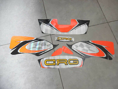 New CRG nose cone sticker kit / design 2 / Go kart