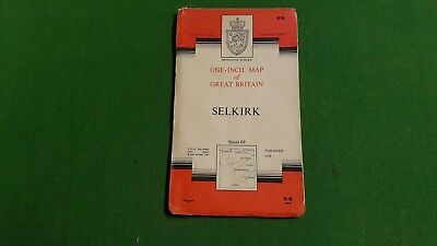Sheet 69 Selkirk OS Map One Inch 7th Series Ordnance Survey