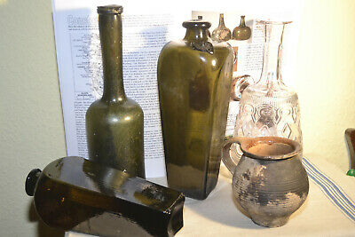 Antiquesammler - Antik Bottle of Jenever ,,Glocke / Bell Van den Bergh&Co´´!!