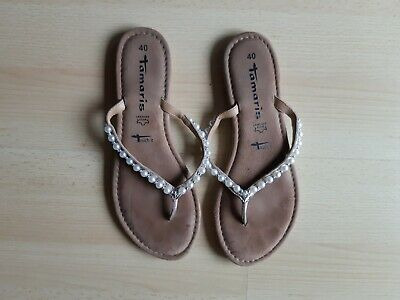 official images on sale new photos TAMARIS / FLIP Flops Zehentrenner / Gr. 37 / rosa / sehr gut ...