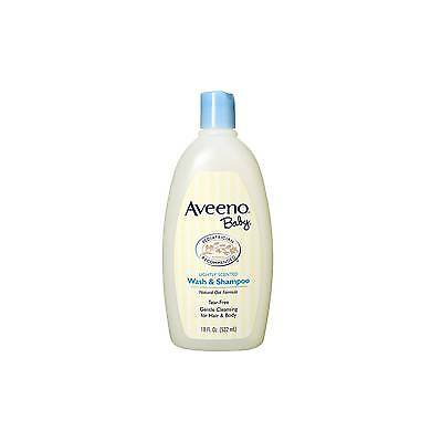 Aveeno Baby Wash and Shampoo 18 oz. 381371023905WS