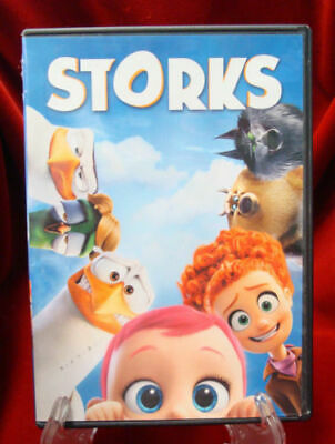 Storks (DVD, 2016) (AMAZING DVD  IN PERFECT CONDITION! DISC AND CASE ALL INCLUDE