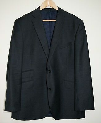 AUSTIN REED:  Grey Men's Tailored Wool Buttoned Blazer Jacket Chest 46R