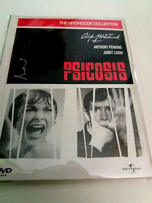 """Dvd """"Psicosis"""" Dvd Libro Como Nuevo Alfred Hitchcock Anthony Perkins Janet Leigh"""