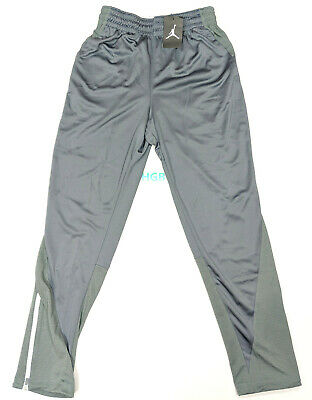 556d81f2d52a3f Nike Air Jordan Flight Team Pants Mens Dri-Fit Grey Basketball 696734 065  NWT