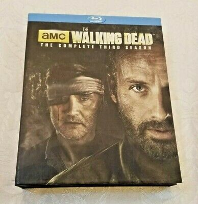 The Walking Dead Complete 3rd Season 5-disc DVD set