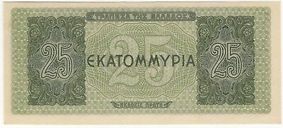 1944 Greece 25 Million Drachmae Note   Bank Notes   Pennies2Pounds