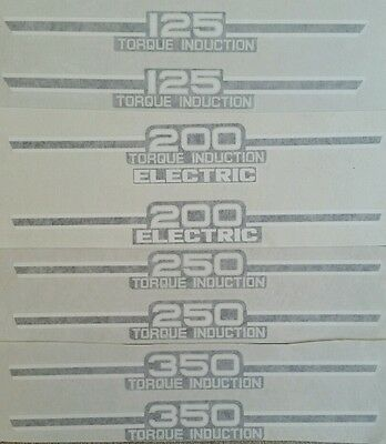 Yamaha Rd350 Rd250 Rd200 Rd125 1973-1974 Side Panel Decals 1 Pair
