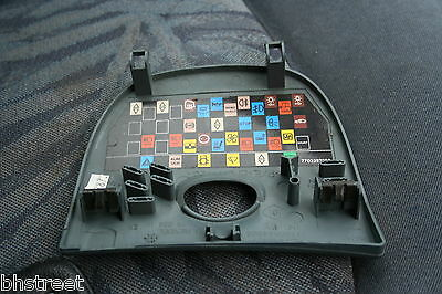 renault scenic mk1 light grey fuse box cover / lid 1996 - 1999  part  7700844908