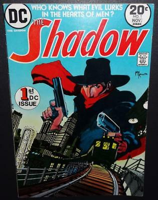 The Shadow #1 1973 5.0 (VG/FN) 1st DC iss; Kaluta artwork begins; BV$15 40%Off