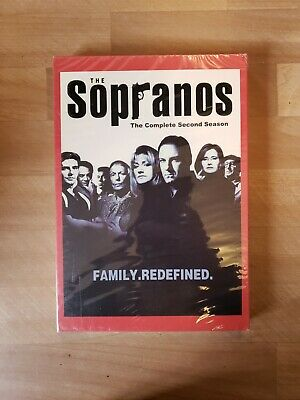 The Sopranos - The Complete Second Season (DVD, 2001, 4-Disc Set, Canadian Fren…