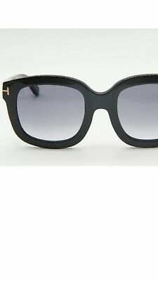 08aa7082370 TOM FORD TF 279 01B CHRISTOPHE BLACK GRADIENT AUTHENTIC SUNGLASSES 53-23 New