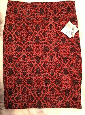c51069522 NWT LULAROE CASSIE Size XS pencil Skirt Large Feather Print - $16.50 ...