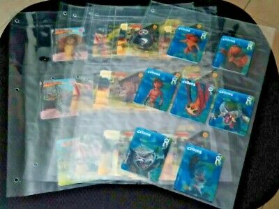 Woolworths Dreamworks Heroes Cards - full set of 42 cards