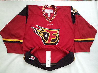 b020394e51c7b2 Rare Ccm Made In Canad Indy Fuel Authentic On Ice Hockey Game Jersey In  Size 52