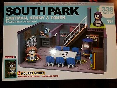 Kenny Token /& Basement Set 338 pcs NEW McFarlane South Park #12869 Cartman