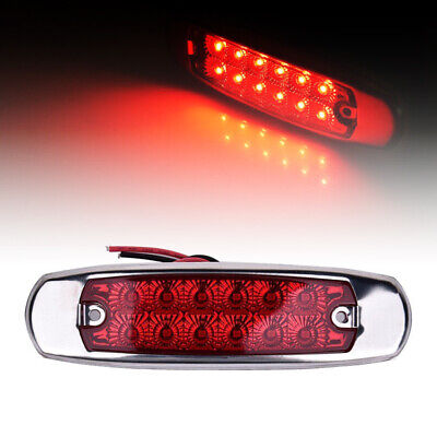 Replacement Side Marker Light 2pcs Car Truck Trailers High Brightness Indicator