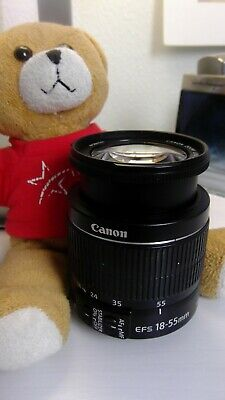 USED Canon EF-S 18-55mm f/3.5-5.6 STM IS II Lens
