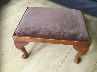 Other Amicable Antique Leather Footstool