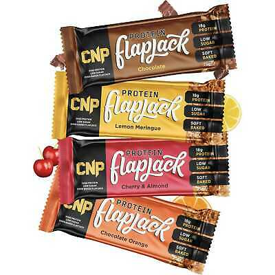 CNP Professional Pro Flapjacks 12x75g Bars High Protein Bar Rolled Oats