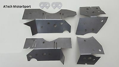 BMW E46 Chassis Subframe Boot Floor Repair Reinforcement 6x Plate Kit M3 330