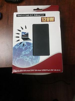 120 W Universal Power Adapter for Laptop