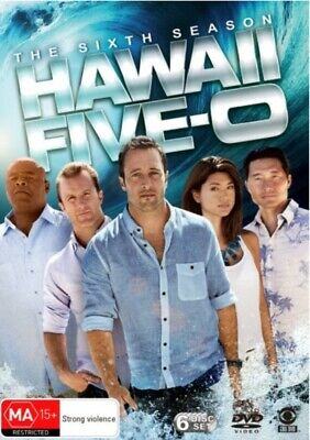 Hawaii Five-0 Season 6 DVD NEW