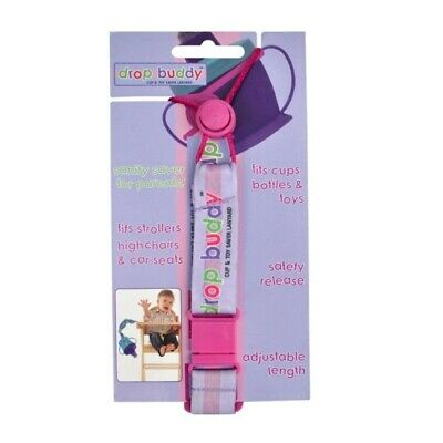 Drop Buddy: Cup & Toy Saver Lanyard, Baby Kids Must Have for Stroller or Trolley