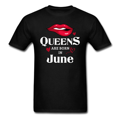 Queens are Born in June Sexy Birthday Outfit T-Shirt plus sizes available