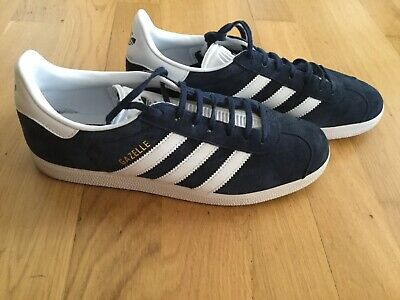 release date: d0b4f c0a17 Adidas Originals Mens Gazelle Trainers Casual Shoes Navy white Size 8