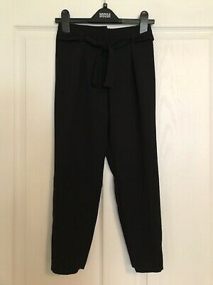 Excellent River Island Age 10 Black Trousers