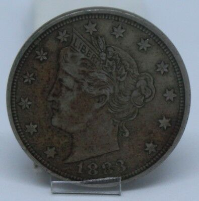 1883 U.S.A. Liberty V Nickel | World Coins | Pennies2Pounds