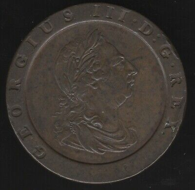 1797 George III Cartwheel Twopence | British Coins | Pennies2Pounds