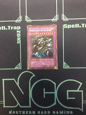 Yugioh-Blue-Eyes Ultimate Dragon-Secret Rare-Limited Edition-FRENCH-RP01 EN000