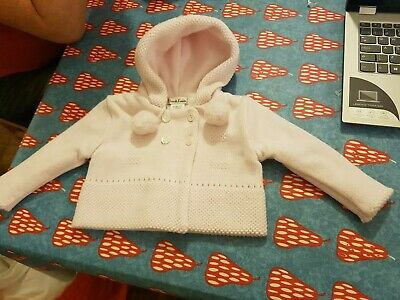 Sarah Louise 3 months pink cardigan very good condition
