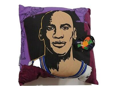 Vintage 1996 Michael Jordan Space Jam Pillow New with Tags 2