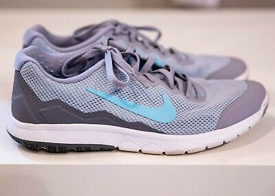 bc5d74108495 Nike Women s Flex Experience Rn 4 Running shoes 749178 002 Grey Blue size  6.5