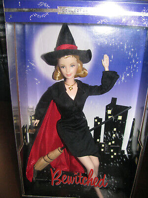 """2001 MATTEL Barbie Doll """"As SAMANTHA from BEWITCHED"""" Collector Edition - NRFB"""
