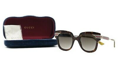 8b47f0178d GUCCI SUNGLASSES WOMEN S Oversized Square 54mm New 100% Authentic ...