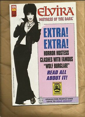 Elvira , Mistress of the dark #124 vfn/nm 2003 Claypool Comics US Bad Girl