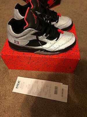 f247ea7eae5163 NIKE AIR JORDAN 5 Retro Low Neymar Size 11.5 Reflect Silver Infrared ...