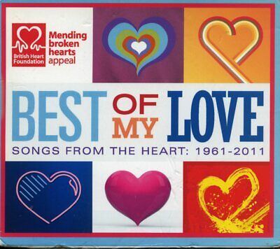 Best Of My Love Songs From The Heart 1961 - 2011 (5CD set) Al Green, Sting, 10cc