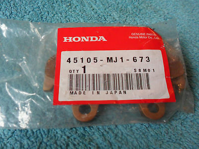 HONDA, Genuine OEM, NOS, CB 700 SC, Disc Brake Pad, Front, part  45105-MJ1-673