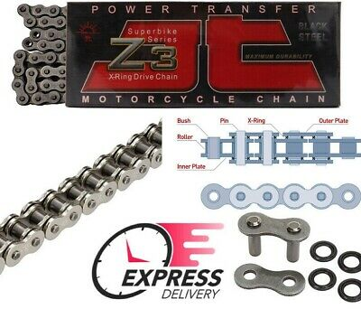 JT X-Ring Super HD Drive Chain 530 Z3 118 L SUZUKI GSX1300 B-KING 2008 - 2012