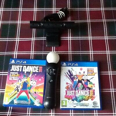 (ps4) Just Dance 2018 .2019 Camera And Ps Move