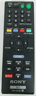 Remote Control RMT-B118A Universal For Sony RMT-B112A BDP-S580 Bd 3D Blu-Ray