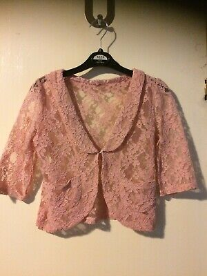 Girls Lace Blouse/jacket age 7 Years Next