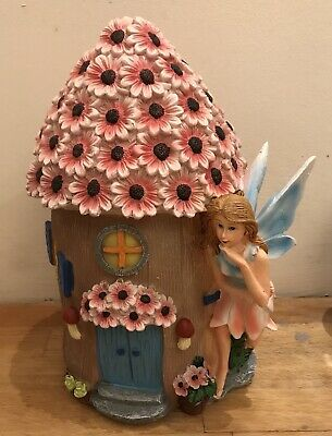 latex mould for making this Beautiful Flower Roofed Fairy House